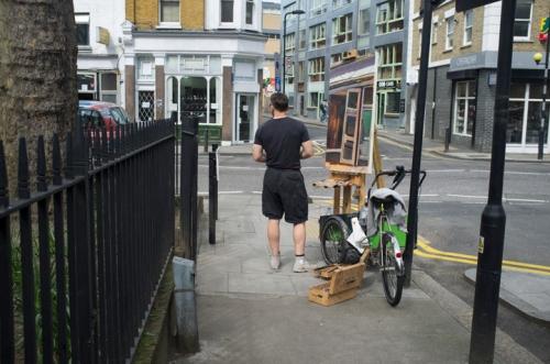 Shoreditch Street Artist